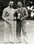 Chink Humphries receives J.L. Finley Trophy, 1936