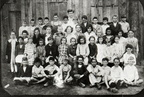 School group, Middletown, 1920