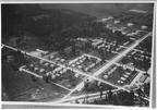 Aerial view of Humble Oil housing section in 1923