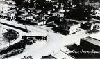 The intersection of Main and Market streets in East Baytown, 1920s or 30s