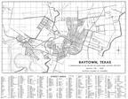 Baytown 1948 Chamber of Commerce Map