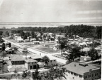 Part of a panoramic photo of West Baytown, in 1928.
